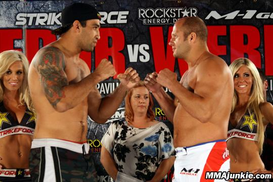 Strikeforce: Werdum vs Fedor – liczby