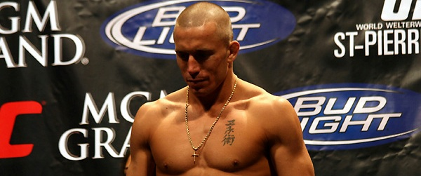 Georges St-Pierre nominowany do nagrody ESPYS.