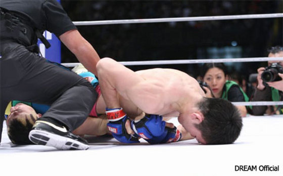 Shinya Aoki vs. Rob McCullough na DREAM 17