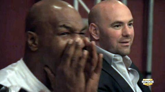 mike tyson in tuf