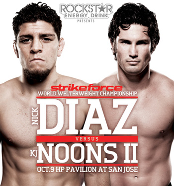 Strikeforce: Diaz vs Noons 2 – wyniki