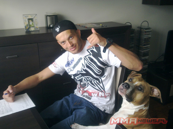 "Maciej ""Irokez"" Jewtuszko w Strikeforce"