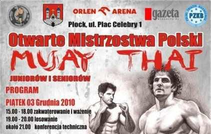 MP muay thai w Płocku – info
