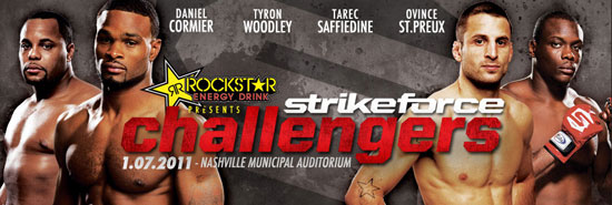 Strikeforce Challengers 13 – wyniki