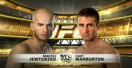 Maciej Jewtuszko vs. Curt Warburton – Analiza walki i video
