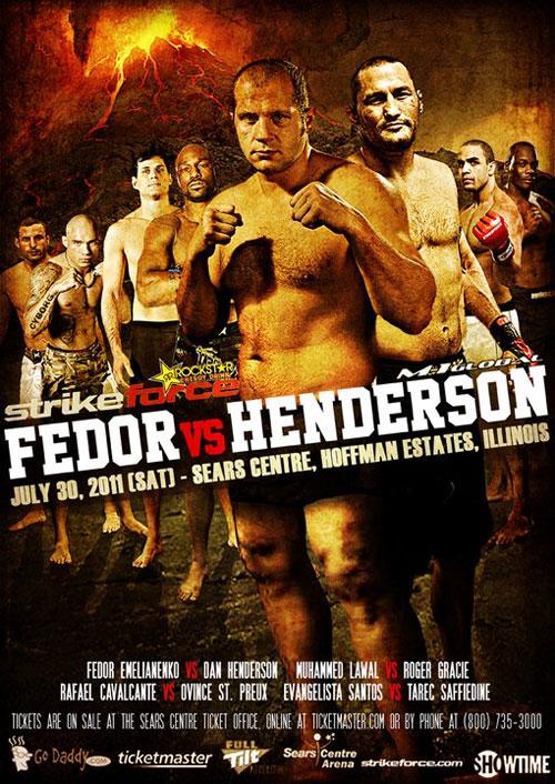 "Strikeforce ""Fedor vs Henderson"" – plakat"