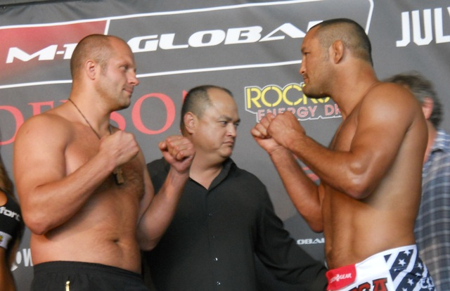 Strikeforce: Fedor vs. Henderson – wyniki