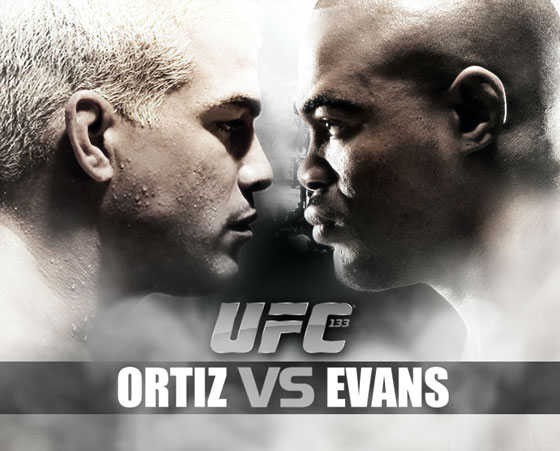 "Plakat ""Ortiz vs. Evans"" (by Paul Najman)"