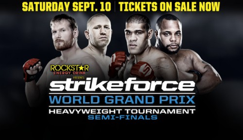 Strikeforce: Barnett vs. Kharitonov – wyniki
