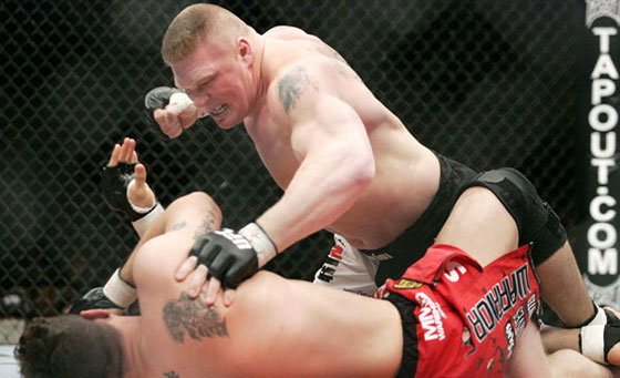 Brock Lesnar vs. Alistair Overeem na UFC 141