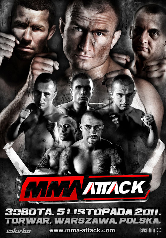 Nowy plakat MMA Attack