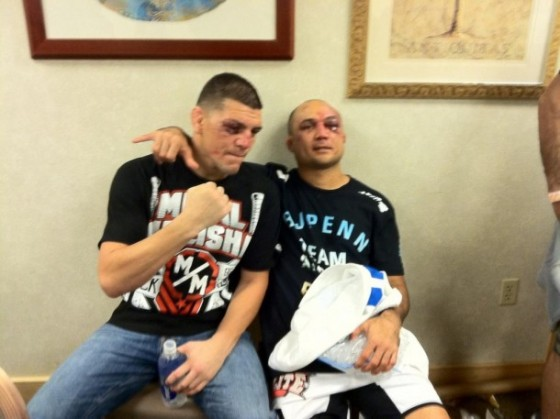 Nick Diaz vs. Braulio Estima superfightem na World Jiu-Jitsu Expo
