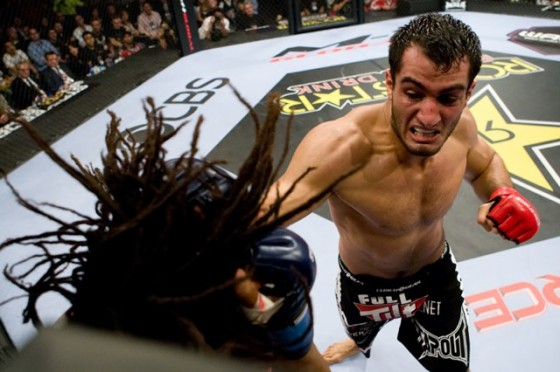 Mike Kyle vs. Gegard Mousasi na Strikeforce: Champions