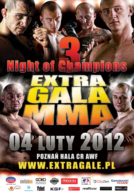 Night of Champions 3 – plakat i aktualna rozpiska