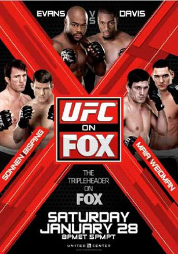Nowy plakat UFC on Fox 2