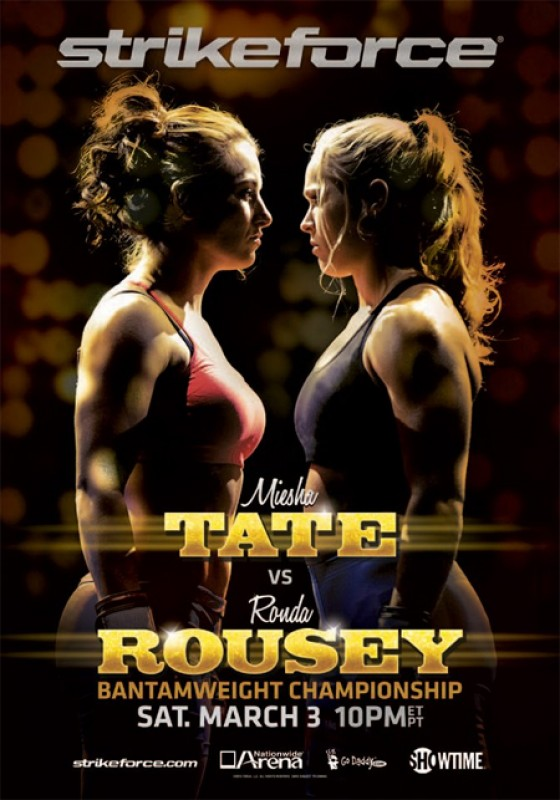 Plakat gali Strikeforce: Tate vs. Rousey
