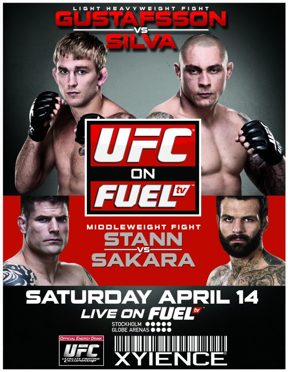 Typowanie UFC on Fuel TV 2: Gustafsson vs. Silva