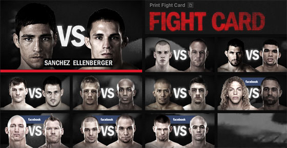 UFC on Fuel TV – wyniki i bonusy