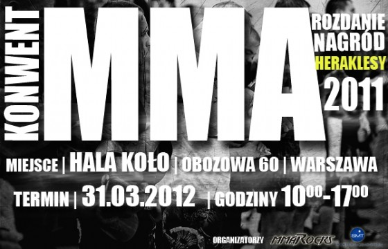 Konwent MMA już w ten weekend!