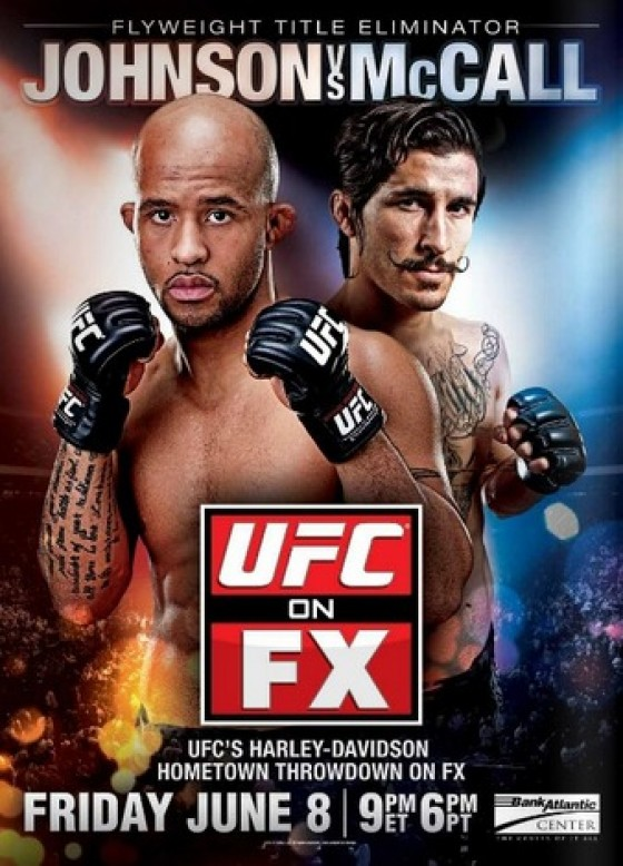 Typowanie UFC on FX 3: Johnson vs. McCall II