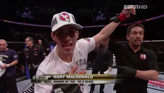 """Georges St. Pierre: """"Rory McDonald to kolejny GSP!"""""""
