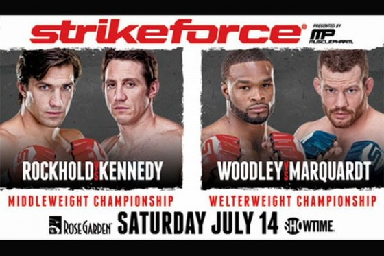 Strikeforce: Rockhold vs. Kennedy – wyniki