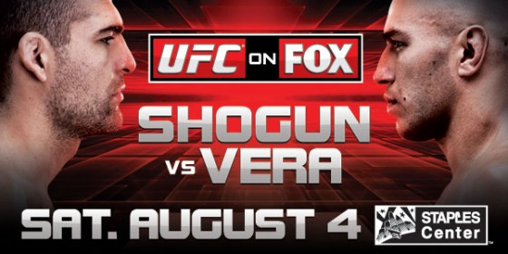 UFC on FOX 4: Shogun vs. Vera – wyniki