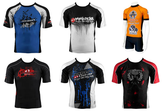Dr Analiza radzi – rash guardy MMA Gear