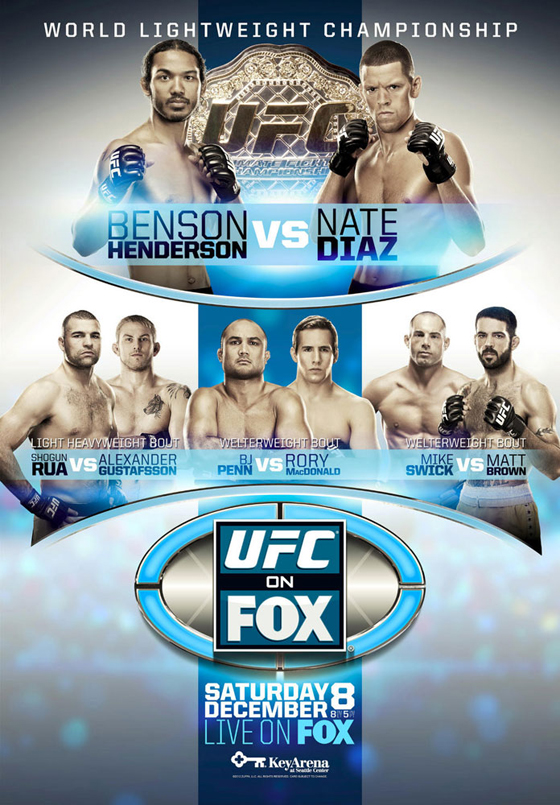 Nowy plakat UFC on FOX 5