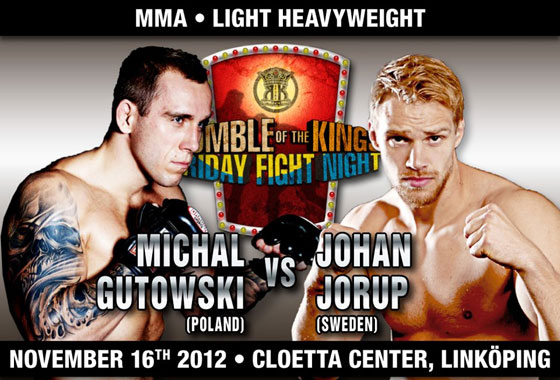 """Michał Gutowski vs. Johan Jurop"" na Rumble of the Kings w Szwecji"