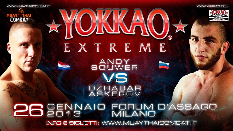 Yokkao Extreme 2013: Andy Souwer vs Dzhabar Askerov