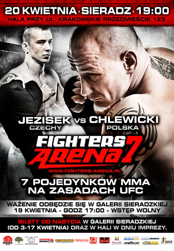 Oficjalny plakat Fighters Arena 7