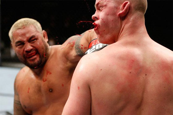 Mark Hunt vs. Junior dos Santos na UFC 160