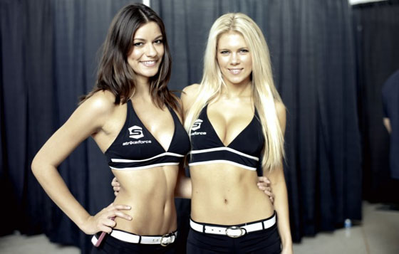 Strikeforce Ring Girls od kwietnia w UFC
