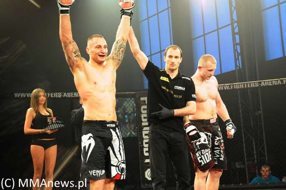 Sylwester Borys vs. Paweł Hadaś na Battle of Champions 1