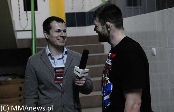 Tomasz Janiszewski po Fighters Arena 7 – video
