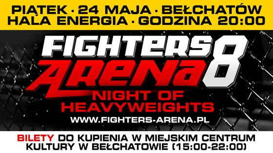 Zmiana terminu gali Fighters Arena 8 – bilety już do kupienia