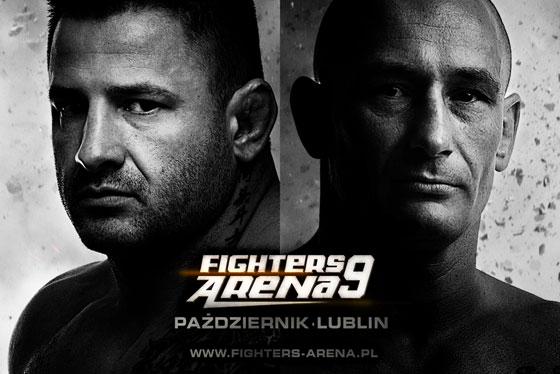 Oficjalny plakat Fighters Arena 9