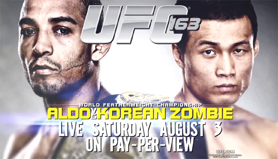 "Highlight czy Herbata: promo gali UFC 163: ""Aldo vs. Korean Zombie"""