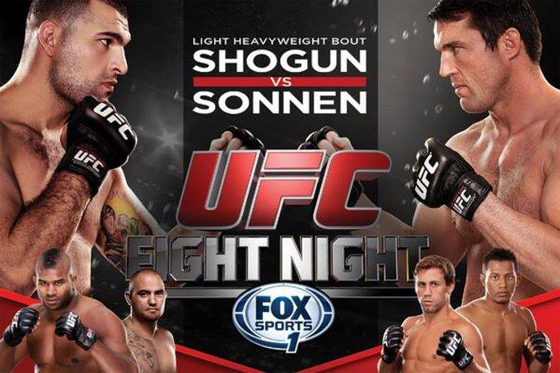 UFC Fight Night 26: Shogun vs. Sonnen – wyniki