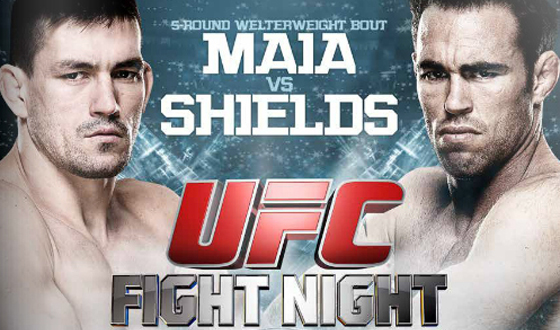 UFC Fight Night 29: Maia vs. Shields – wyniki