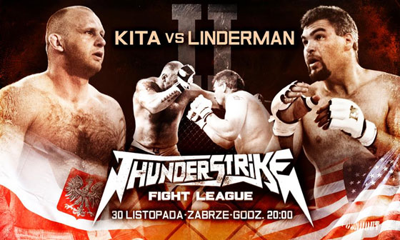 "Rewanż ""Michał Kita vs. D.J. Linderman"" na listopadowym Thunderstrike Fight League 2 w Zabrzu"