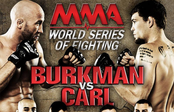 [UPDATE]WSOF 6: Burkman vs. Carl – wyniki