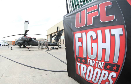 "UFC Fight Night 31: ""Fight for the Troops 3"" – wyniki"