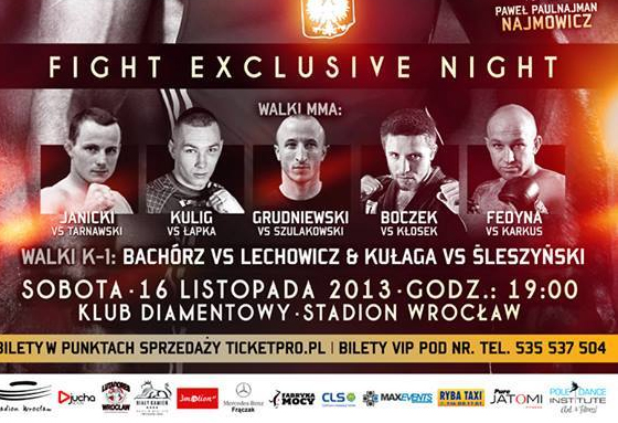 Fight Exclusive Night 1 – wyniki