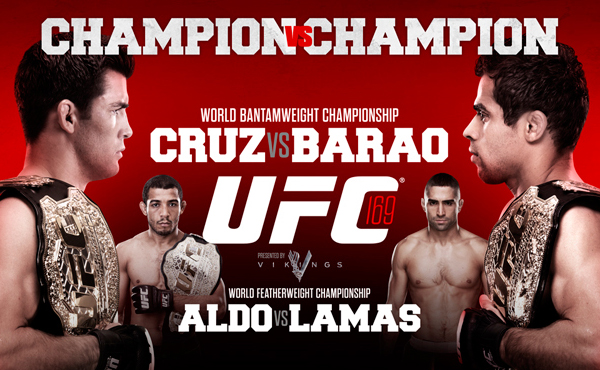 "UFC 169: ""Champion vs. Champion"" – trailer + rozpiska"