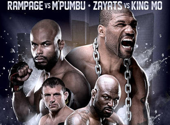 """Rampage"" vs. M'Pumbu i ""King Mo"" vs. Zayats w turnieju Bellatora"