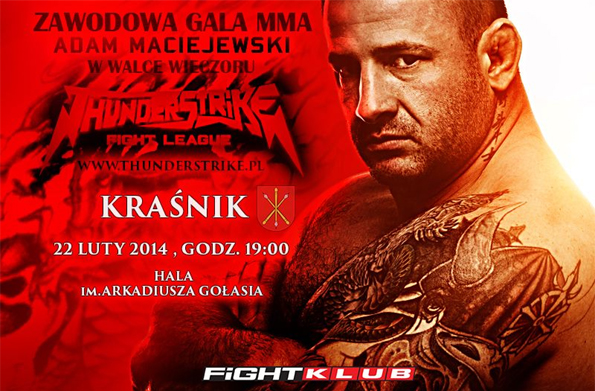 Thunderstrike Fight League odkrywa karty gali w Kraśniku