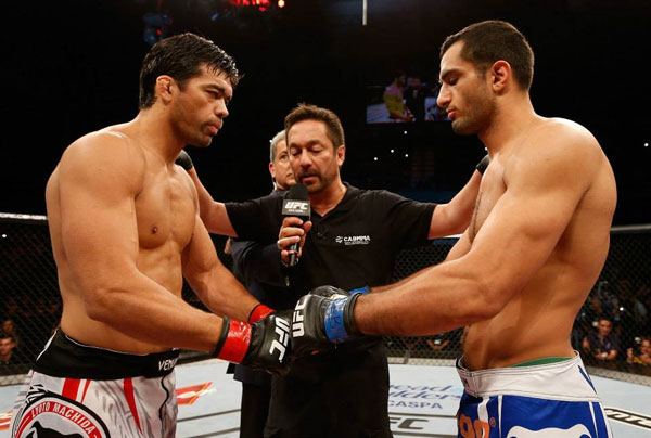"Wyniki UFC Fight Night 36: ""Machida vs. Mousasi"""