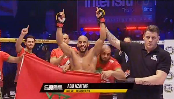 Abu Azaitar znokautował Jacka Marshmana na Cage Warriors Fight Night 10
